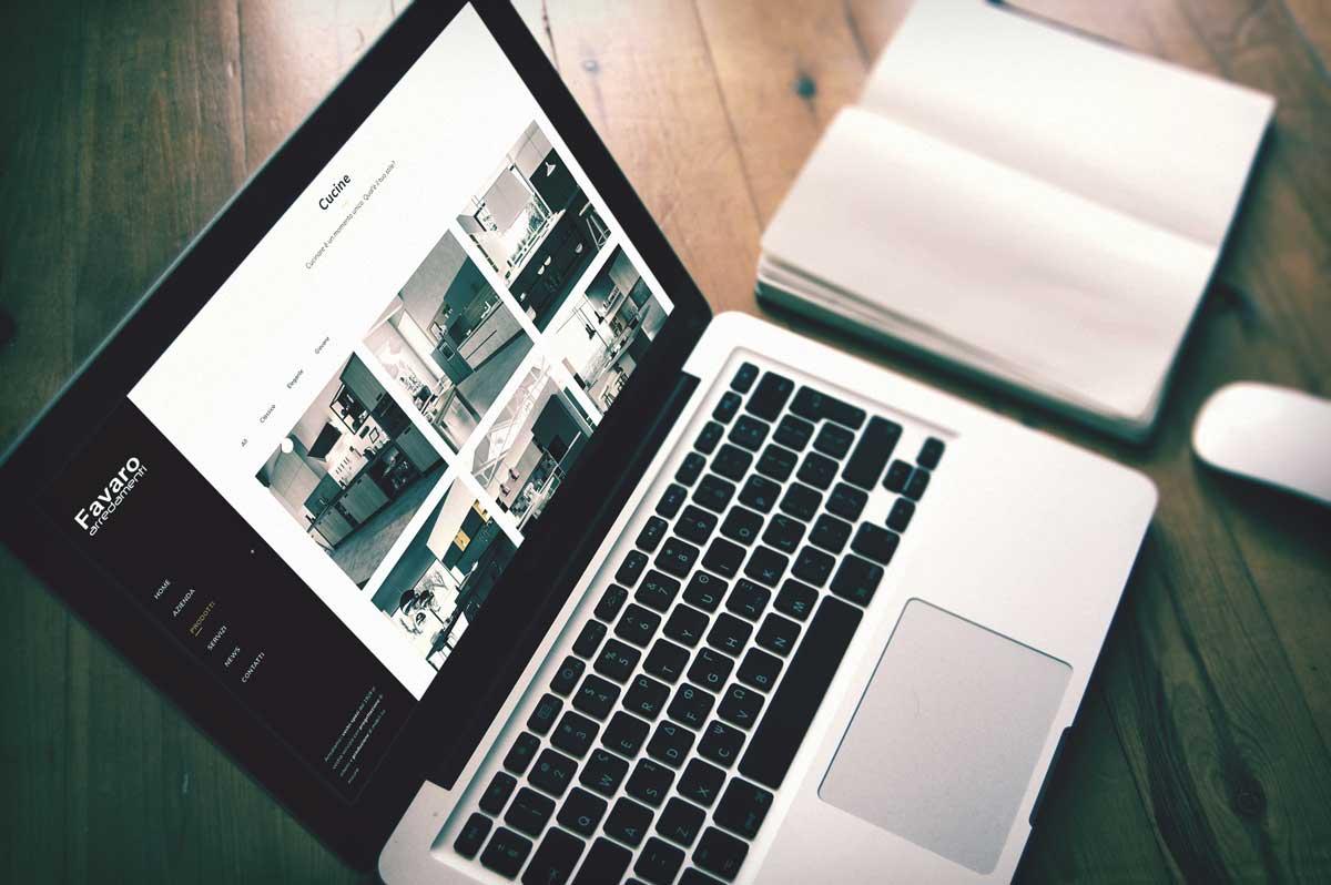 Un nuovo sito web favaro arredamenti for Arredamenti favaro